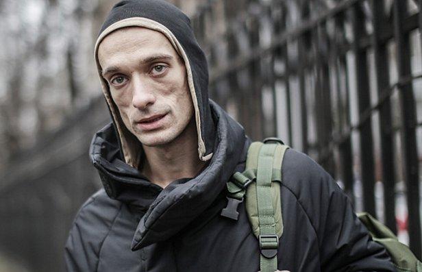 Российский художник поджег Банк Франции в Париже (фото)