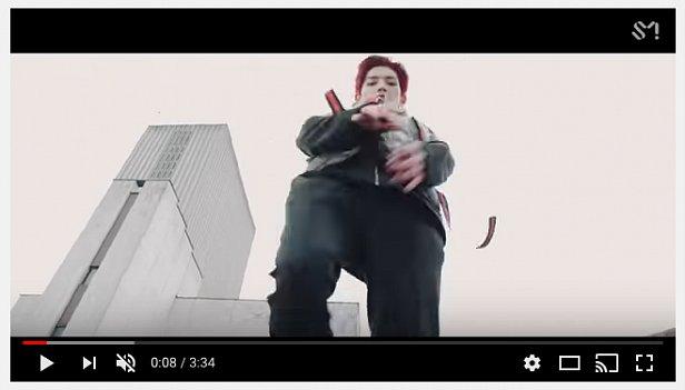 Самая популярная в Южной Корее группа снял клип в Голосеевском районе Киева