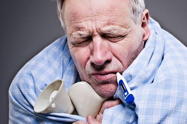Фото - Больной гриппом