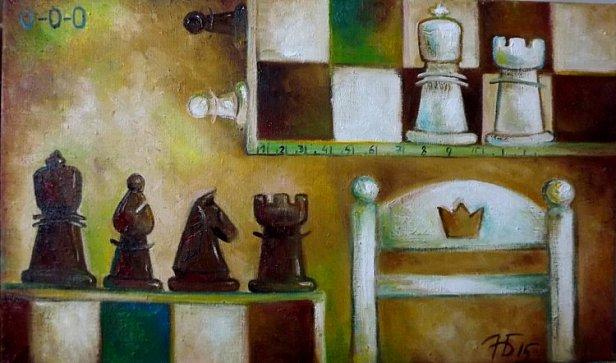 Анастасия Балыш, «Длина рокировки», 2015