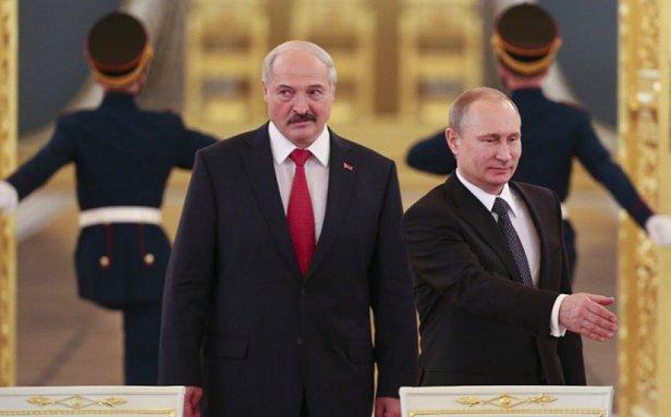 фото - Лукашенко и Путин