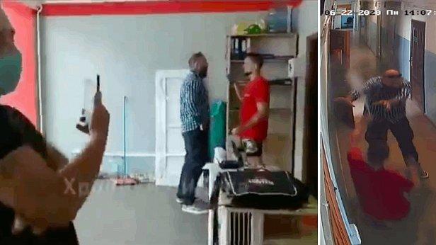 фото - видео нападения на офис партии