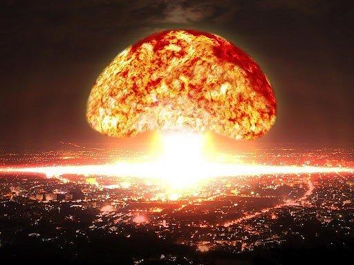 Фото — Сброс ядерной бомбы на Москву