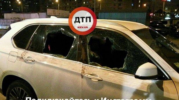 Дерзкое ограбление в Киеве: ранен бизнесмен