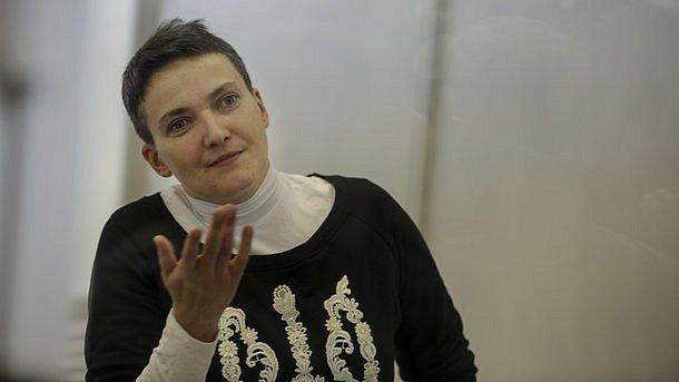В России Савченко выдвинули серьезное обвинение