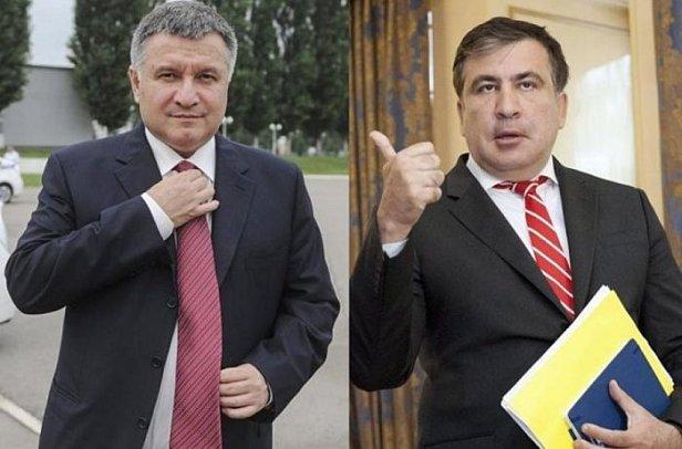 Саакашвили высказался о работе вместе с Аваковым после скандала