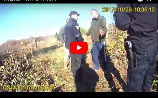 Захват воинской части: полиция показала свое видео