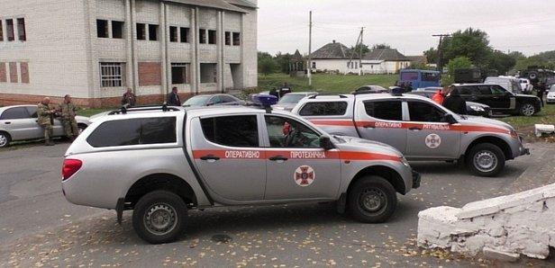 Взрывы в Ичне: спасатели рассказали о ситуации на утро