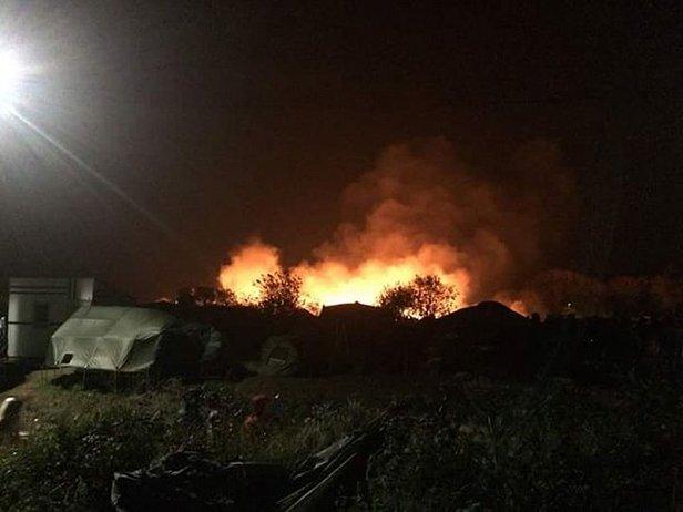 """На полигоне """"Широкий лан"""" произошел пожар: есть погибший и много пострадавших"""