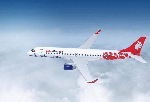 Фото — Самолёт Buta Airways