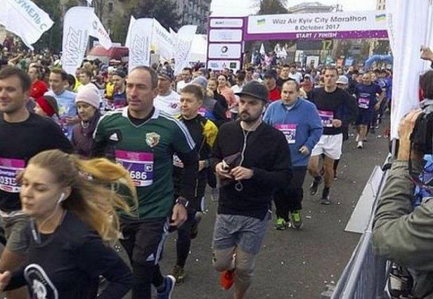 Во время марафона в Киеве произошла трагедия