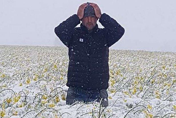 Фото — Снегопад в Польше