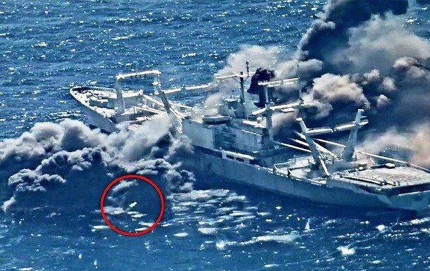 США уничтожили ракетами корабль в Тихом океане