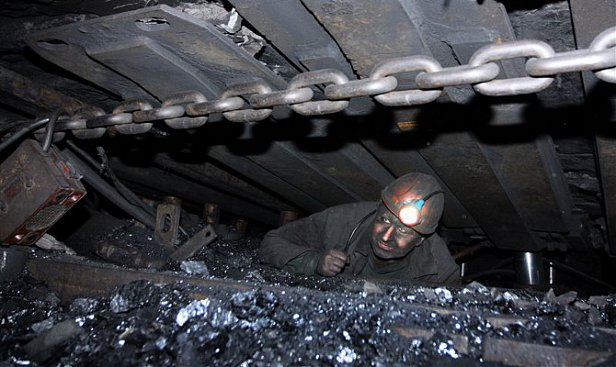 Госстат: добыча угля сократилась на 42%