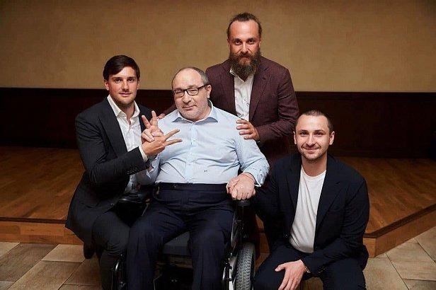 Фото - Геннадий Кернес с сыновьями