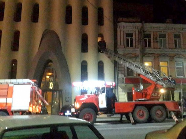 Пожар в отеле «Каспий»