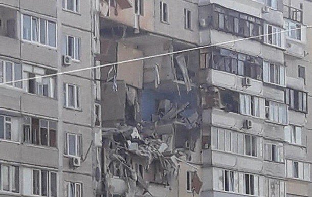 фото - взрыв на Григоренко, 41