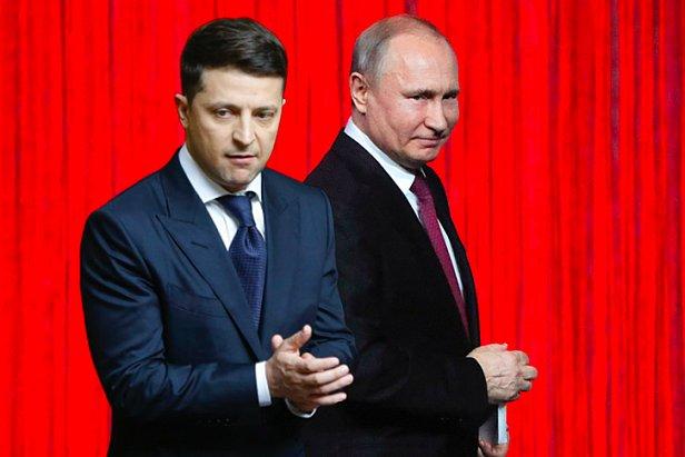 фото - встреча Зеленского с Путиным