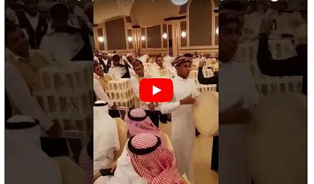 В Саудовской Аравии каждый гость на свадьбе получил iPhone 8 в подарок (видео)