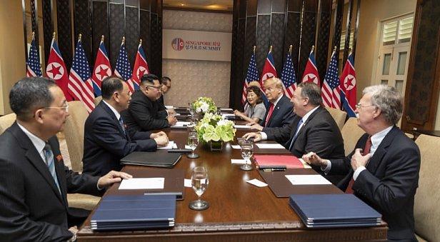 Выбор есть: Трамп показал Ким Чен Ыну видео о будущем КНДР
