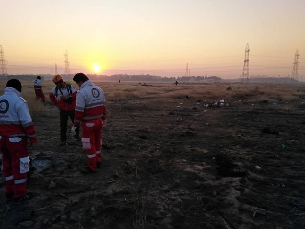 В сети появилась запись разговора иранского пилота, видевшего попадание ракеты в рейс PS752