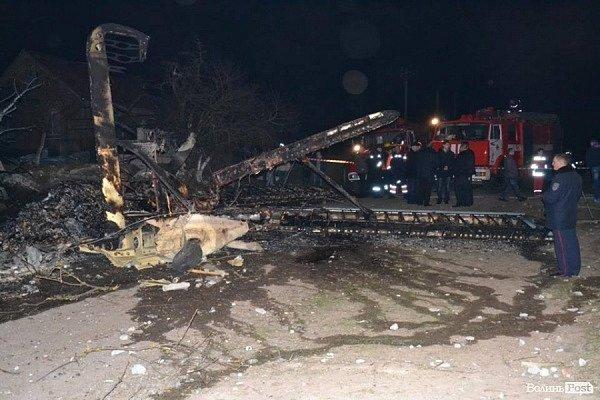 На Волыне произошла авиакатастрофа
