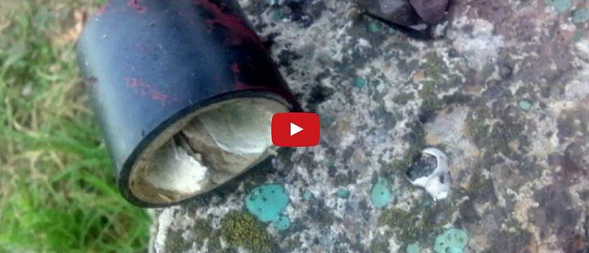 В Запорожье мужчине взрывом оторвало пальцы (видео)