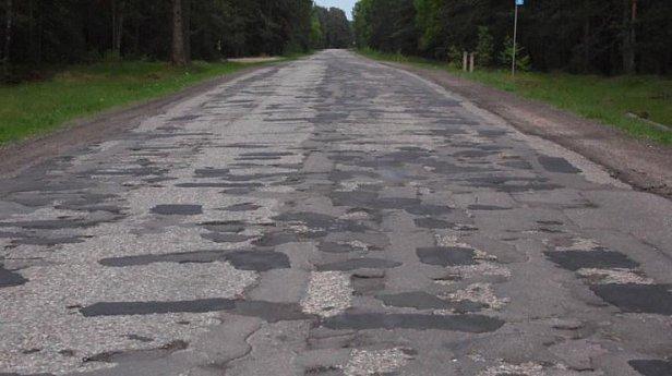Дороги в Украине вошли в топ-10 худших в мире