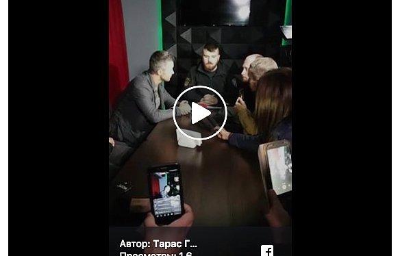 Эксклюзивное видео: активисты прорвались на концерт Бабкина