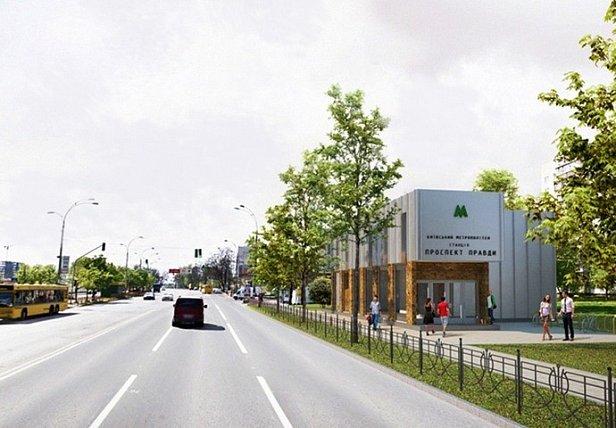 Фото - Кличко показал, как строится метро на Виноградарь