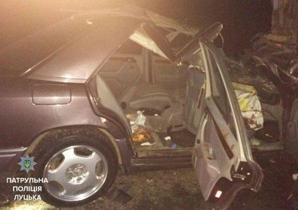 В аварии на Волыни погиб глава Шацкой общины (фото)