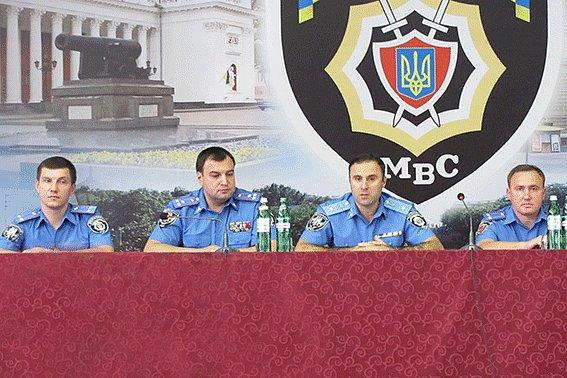 Лорткипанидзе представил нового начальника милиции Одессы