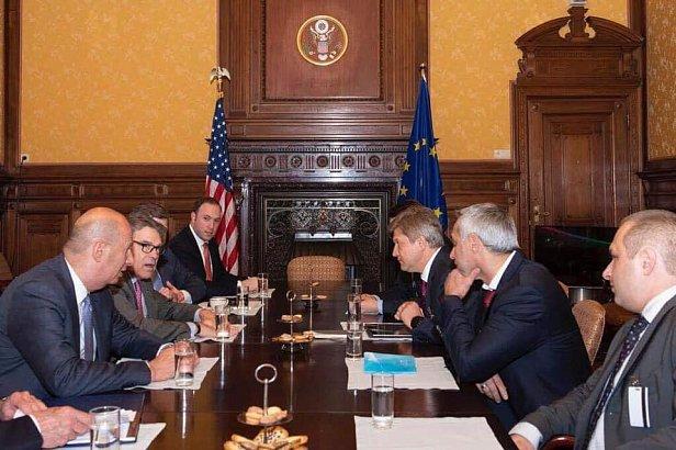 фото: Советник Зеленского провел встречу с министром энергетики США