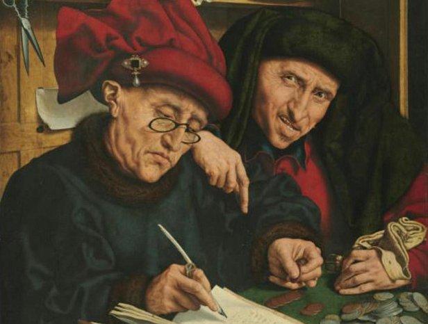 Маринус ван Реймерсвале, «Сборщики податей», 1540