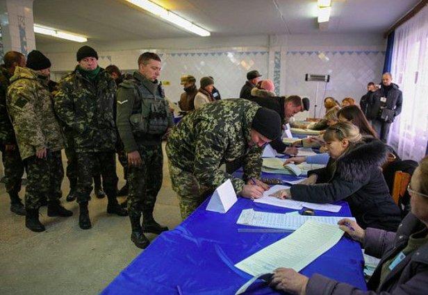 фото - Результаты выборов среди военных