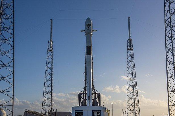 SpaceX осуществила запуск Falcon 9 с военным спутником GPS