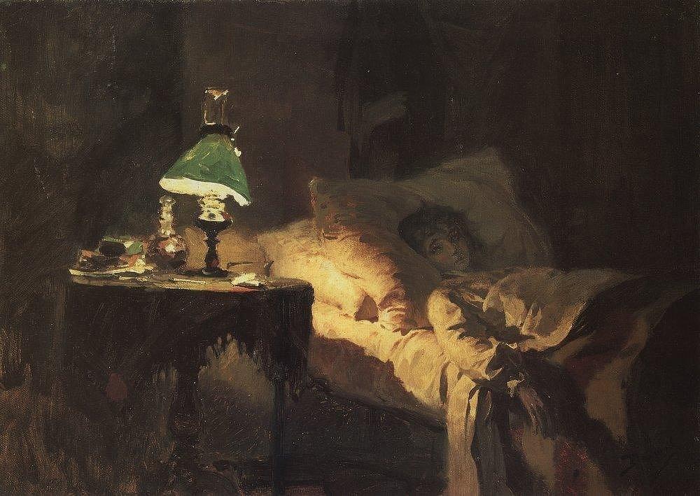 Василий Поленов, «Больная», 1886