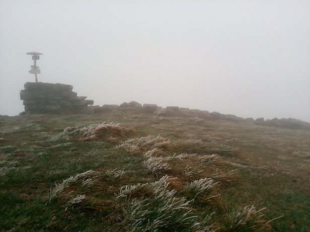 Фото - первый снег в Украине