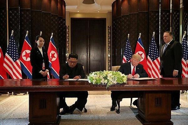 Переговоры  Трампа и Ким Чен Ына: подписан итоговый документ