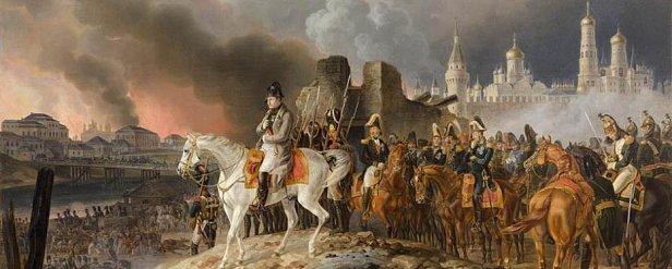 Альбрехт Адам, «Наполеон в палаючій Москві», др. пол. XIX ст.
