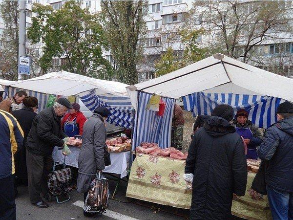 фото - рынки Киева