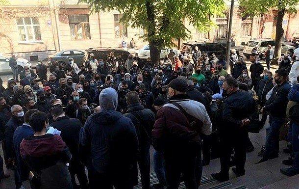 Фото — Протесты в Черновцах