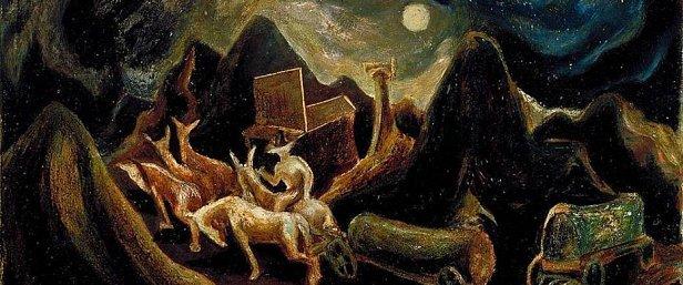 Джексон Поллок, американський експресіонізм, перша пол XX ст