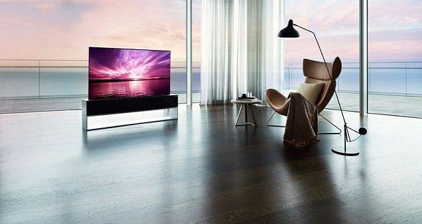 LG выпустила первый в мире телевизор-рулон Signature OLED R за $87 000