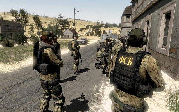 На фото спецназ ФСБ