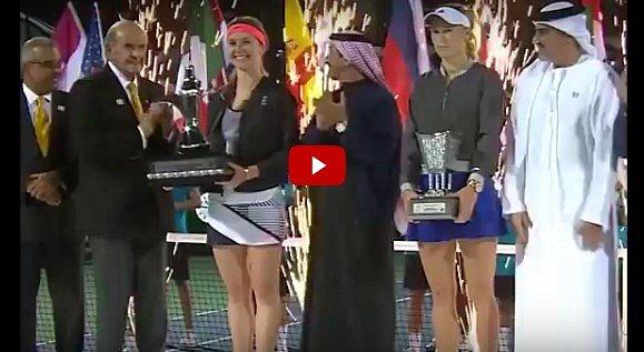 Украинку признали лучшей теннисисткой мира в феврале (видео)