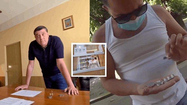 фото - нардеп Куницкий и полицейский Дводненко