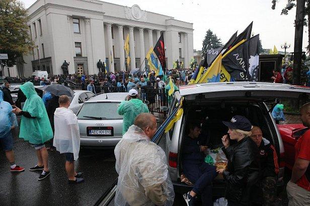 """Бунт """"евробляхеров"""": озвучены  требования к властям"""