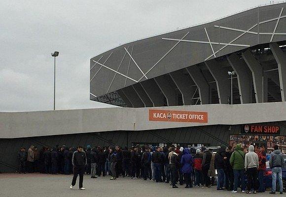 Билеты на матч Шахтер - Севилья вызвали огромный ажиотаж