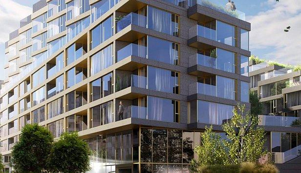 Как выглядят однокомнатные квартиры в новом полифункциональном районе RYBALSKY